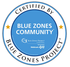 Blue Zones Certification Seal