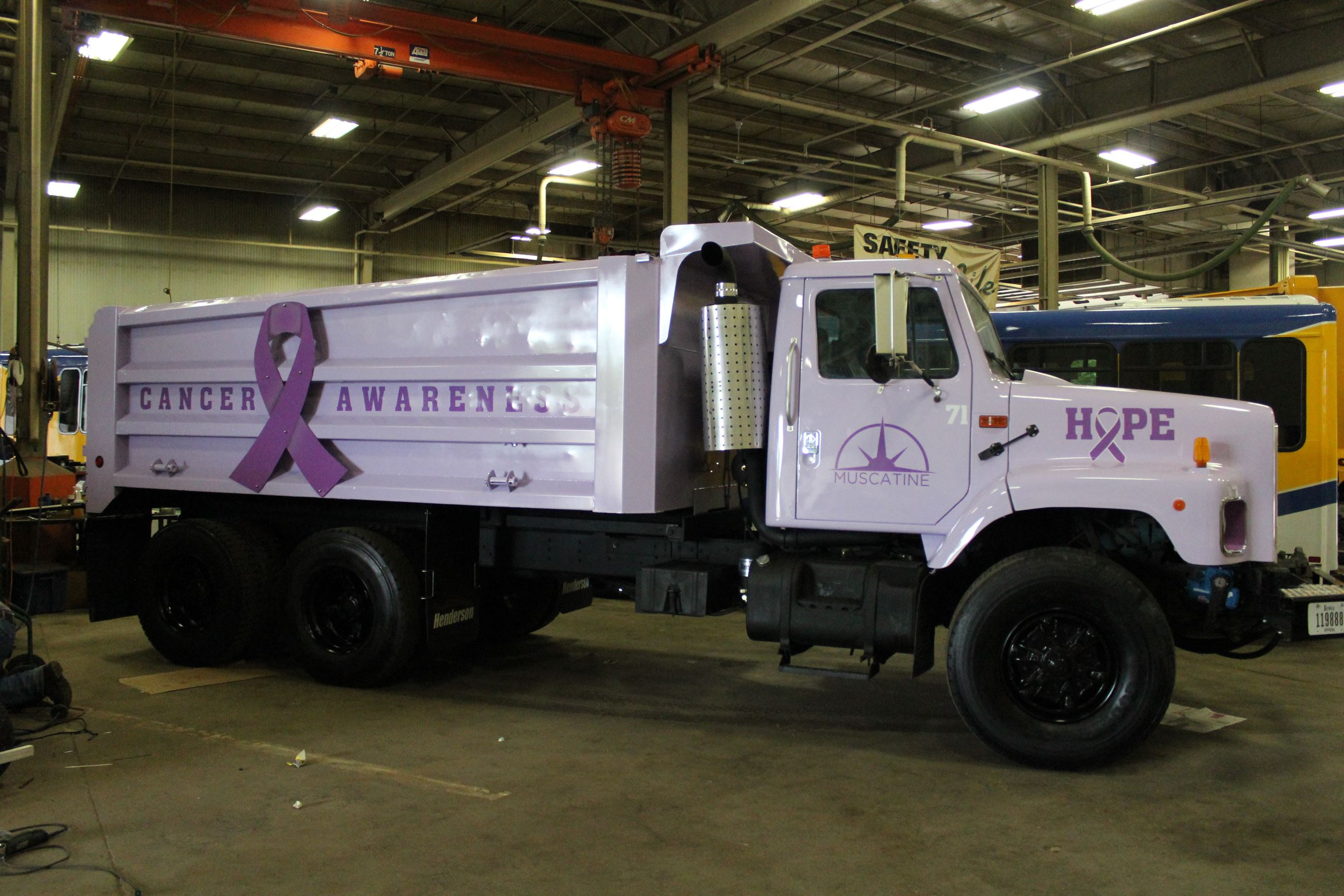 Cancer Awareness City Truck 005