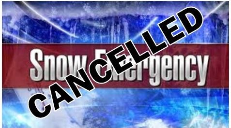 Snow Emergency Cancelled