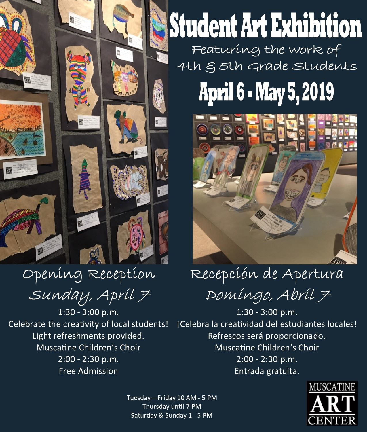 Student Exhibit Reception 2019