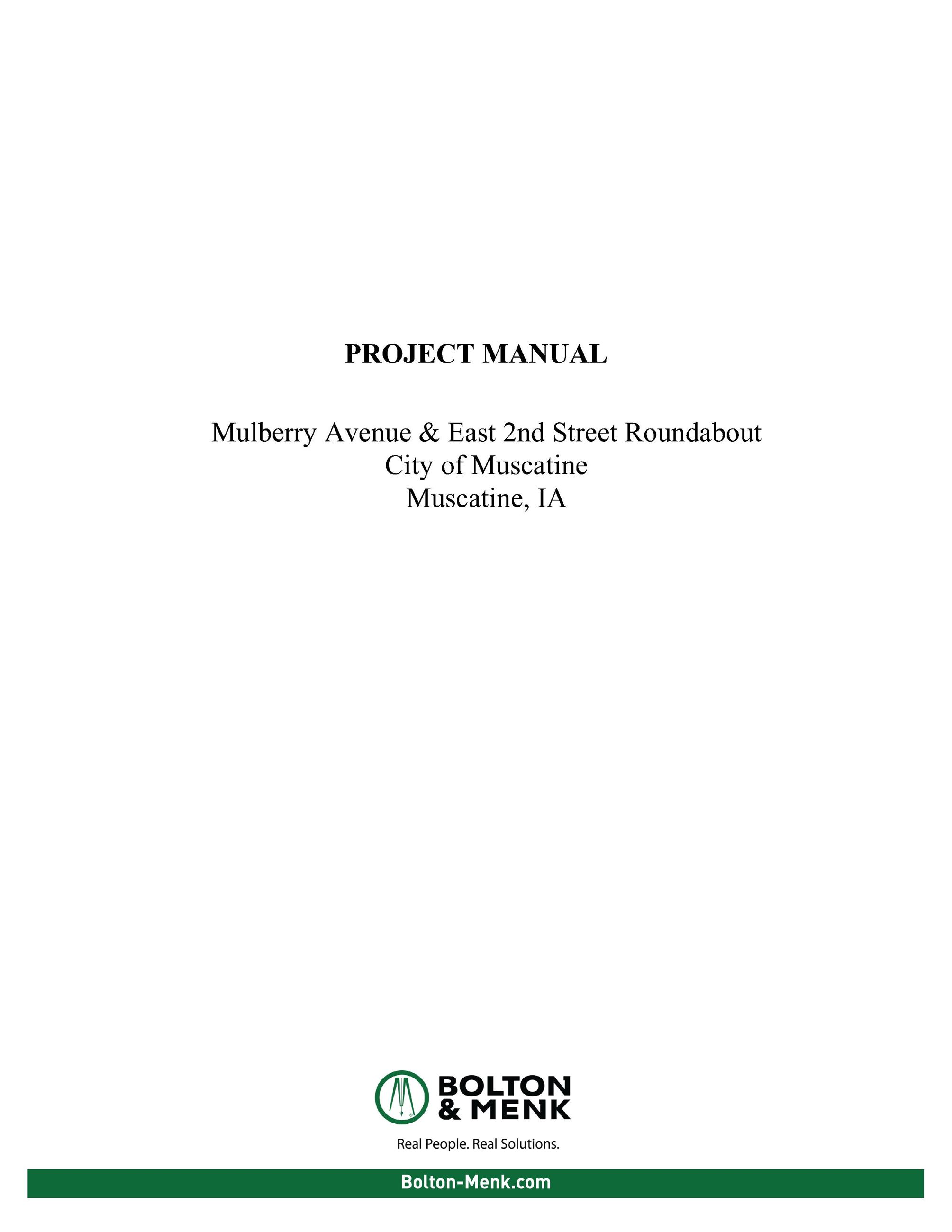 Mulberry Roundabout Project Manual Cover Sheet (JPG)