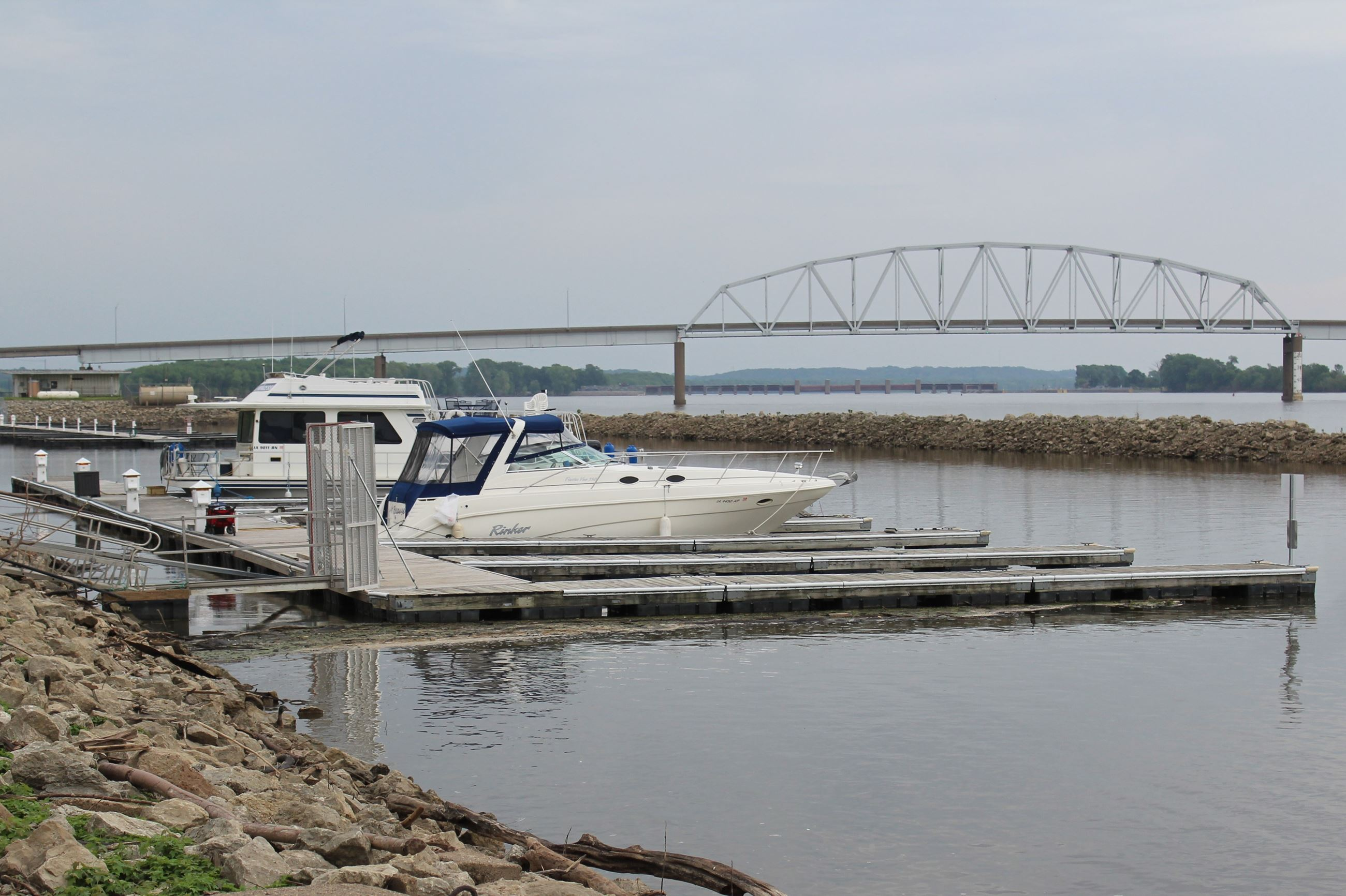 Muscatine Marina reopens as flood recedes June 28, 2019 (JPG)