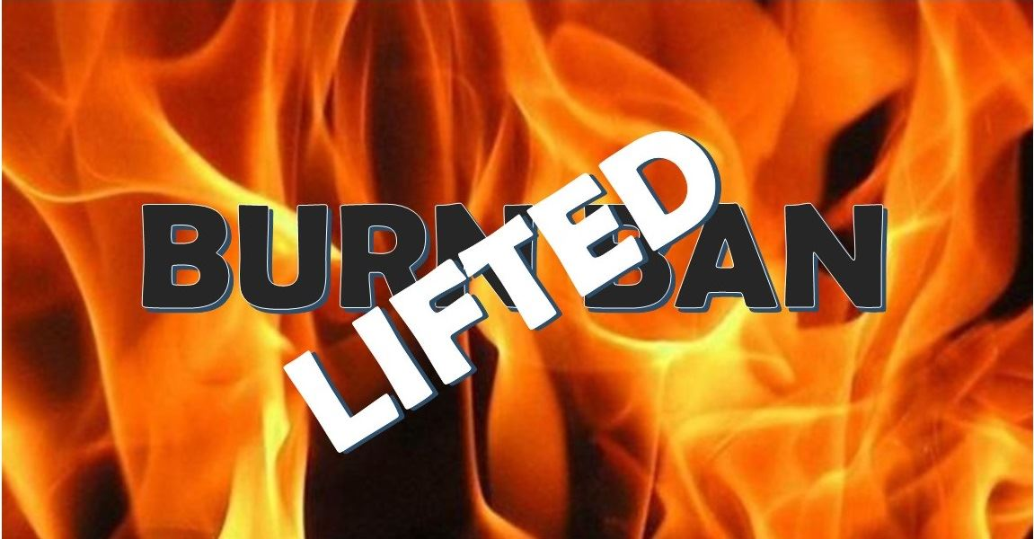 Muscatine County Burn Ban Lifted (JPG)