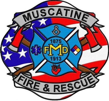 Muscatine Fire and Rescue Class A patch