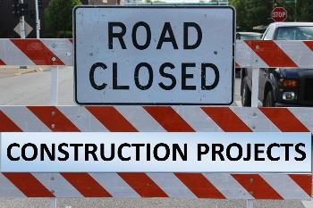Road Closed-Construction Projects
