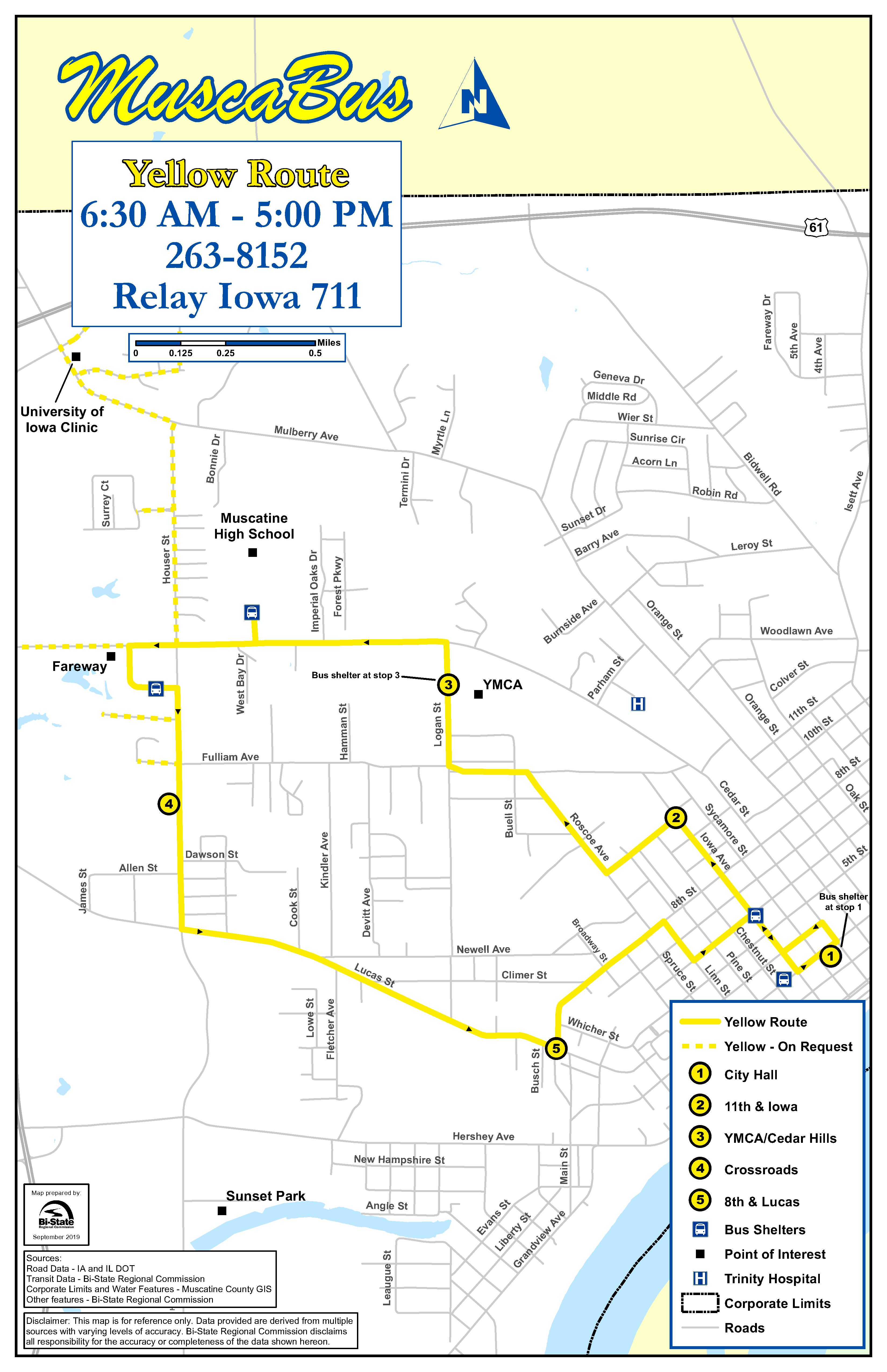 Weekday Yellow Route (JPG)