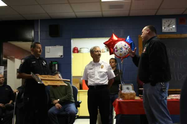 Chief's Retirement Party